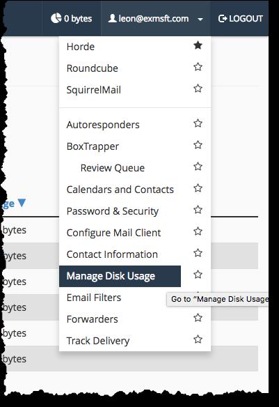 Manage Disk Usage